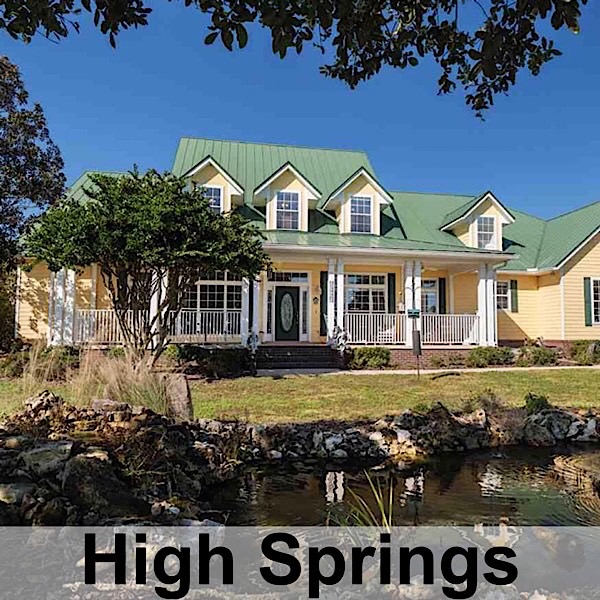 High Springs Real Estate and Homes For Sale in Florida